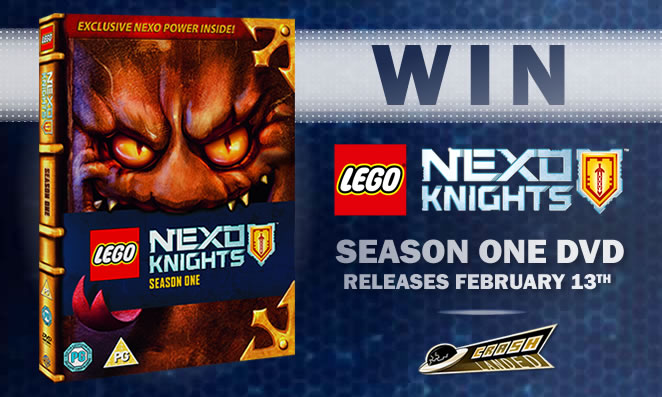 Win yourself LEGO Nexo Knights Season One on DVD from Crash Landed