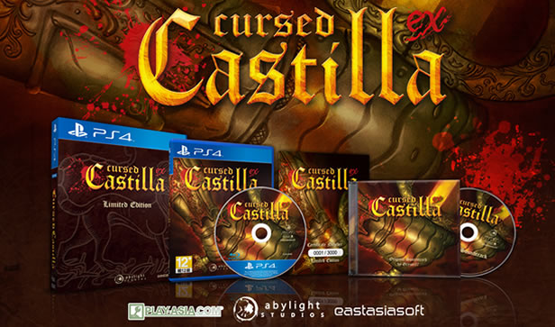 Cursed Castilla EX - Limited Physical Release from Abylight Studios, eastasiasoft and Play-Asia
