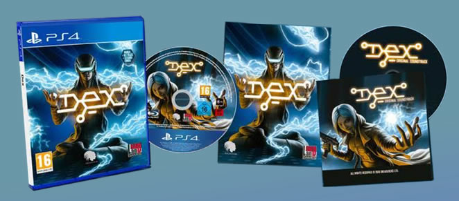 Dex physical release for PlayStation 4 in UK