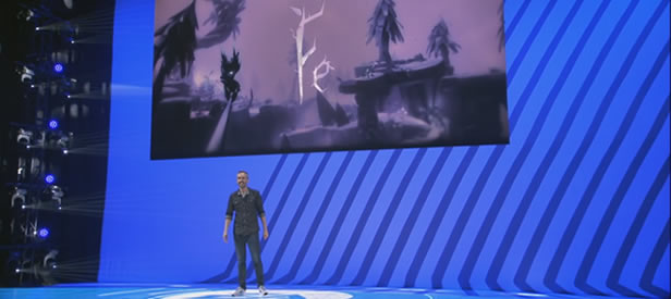 Klaus Lyngeled at EA Play 2016 (E3)
