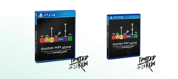 Thomas Was Alone - Limited Run Games - Physical release for PlayStation 4 & PlayStation Vita