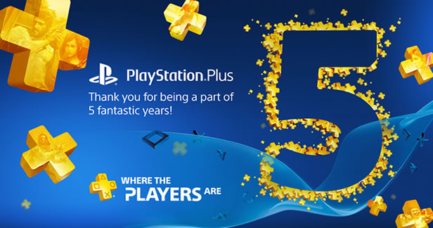 PlayStation Plus 5th Year Anniversary