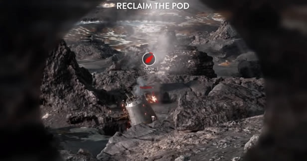 Star Wars Battlefront Beta - Drop Zone - Reclaim Pod