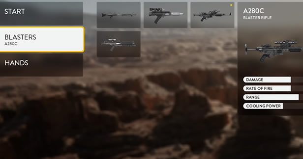 Star Wars Battlefront Beta - Single Player Survival default loadout