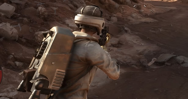 Star Wars Battlefront Beta - Single Player Survival third person switch