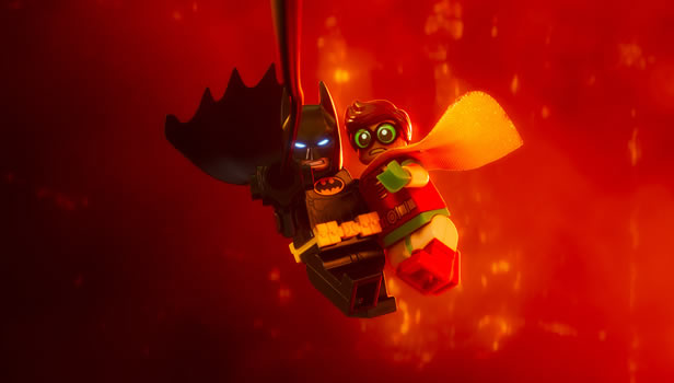 The LEGO Batman Movie (Will Arnett, Michael Cera, Rosario Dawson, Ralph Fiennes, Hector Elizondo and Zach Galifianakis)